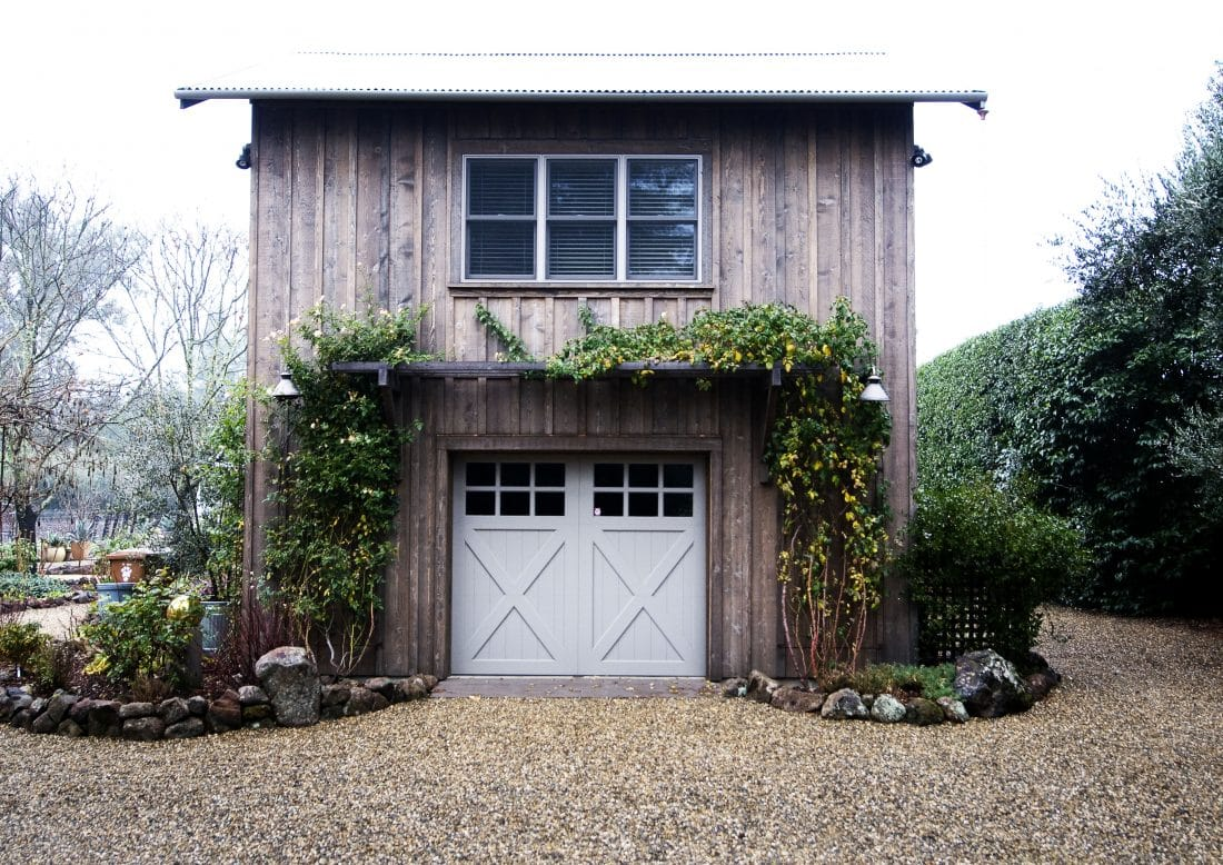 Garage barn with office loft napa clyde construction inc for One car garage with loft