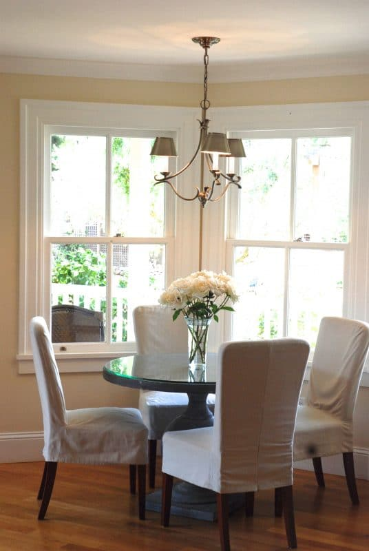 Dining Room with Custom Woodwork