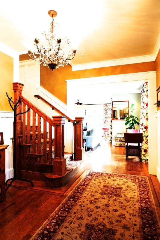 Entry with Stairway
