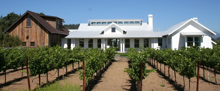 Custom St. Helena vineyard home