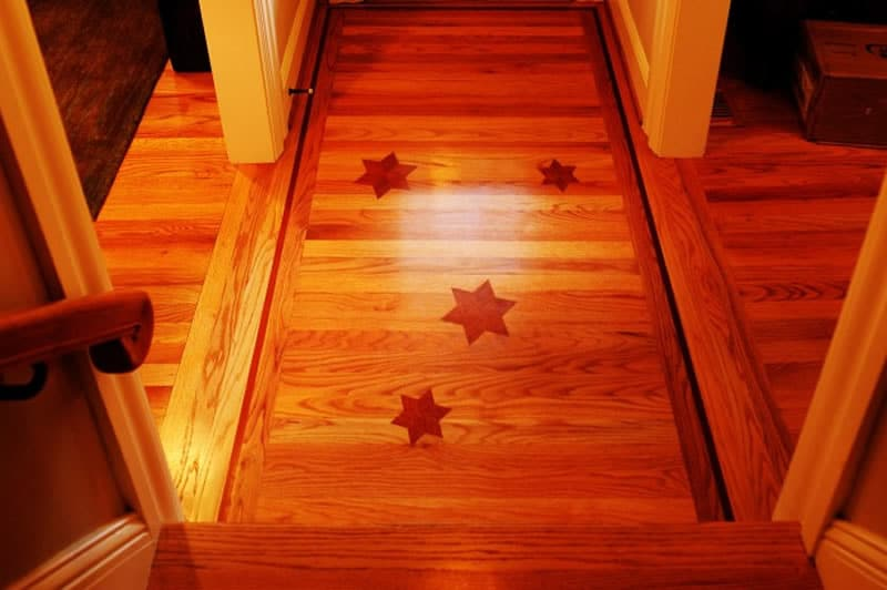 custom woodwork floor