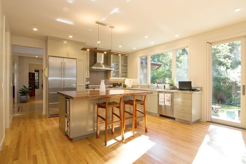 80s home remodel sonoma ca clyde construction inc for Remodel 80s kitchen